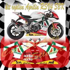 KIT adesivi moto APRILIA RSV4 SUPERBIKE ALITALIA MOTO STICKERS decal sbk motogp