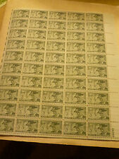 United State Scott 998, the United Confederate Veterans sheet of 50 stamps