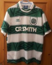 GLASGOW CELTIC 1993 - 1995 HOME SHIRT UMBRO - SIZE L - EXCELLENT CONDITION!