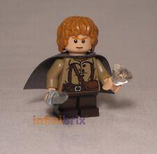 LEGO Sam GAMGEE dal Set 9470 Shelob ATTACCHI LOTR Hobbit Sam NUOVO lor004