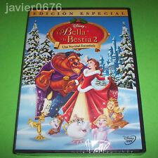 LA BELLA Y LA BESTIA 2 UNA NAVIDAD ENCANTADA DVD NUEVO Y PRECINTADO