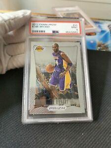 Kobe Bryant Panini Prizm 2012 PSA 9 - 2012 pack fresh card rare