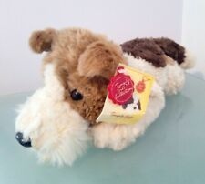 Keel Toys Simply Soft Collection Laying Fox Terrier Plush Cuddly Toy + Tag, 13""