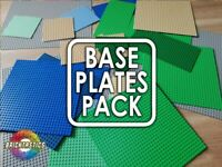 LEGO Baseplate Mix Pack -80x96 Studs worth Per Order (7680 studs surface area!)