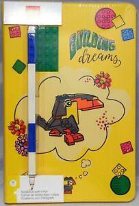 LEGO Notizblock Building Dreams mit Stift 52525 Notebook Notizbuch NEU
