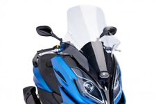 Kymco K-XCT 125 / 300 2013-2017 Puig V-Tech Touring Scooter Windscreen Clear