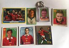David Beckham Merlin Rare Sticker Bundle Premier League 96/97/98 Rookie Lot