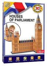 Build Your Own 3D Puzzle Model Kit - Houses of Parliament (116 Pieces)