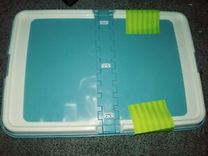 Training Pet Puppy Dog Pad Holder Trainer Tray Pet Litter Potty Housebreaking XL