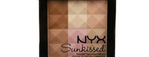 New NYX Professional Sunkissed Radiant Finishing Blush Bronzer Powder Sunkissed