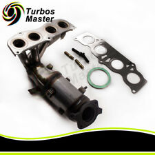 Exhaust Manifold w/ Catalytic Converter for 2003 2005 2006 Toyota Camry 2.4L I4