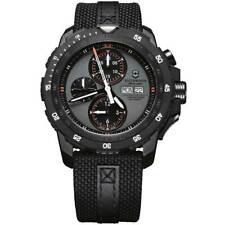 Victorinox Swiss Army Men's Watch Alpnach Chrono Grey Dial Black Strap 241528