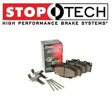 Smart ForTwo Passion Front Left & Right Possi Quiet Metallic Brake Pads StopTech