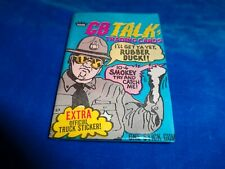 1977 Fleer CB Talk Trading Cards Wax Pack Fresh from Box!
