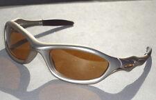 "Mint OAKLEY ""UNKNOWN"" 03-317 FMJ Platinum frames+Gold Iridium lenses sunglasses"