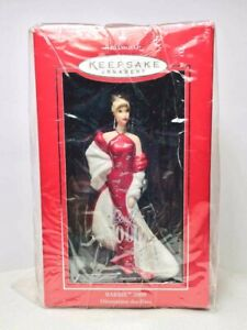 2000 BARBIE Porcelain HALLMARK Keepsake Ornament NEW IN BOX  Free Ship