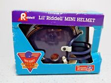 Vintage Riddell Mini Football Official Helmet Buffalo Bills Lil' Riddell NFL