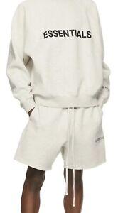 Fear Of God - FOG Essentials Fleece Sweat Shorts Authentic New In Bag Medium Tan