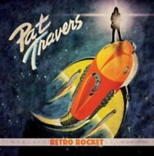 Retro Rocket by Pat Travers (CD, Mar-2015, Purple Pyramid)