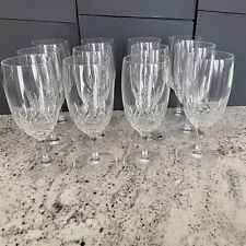 Waterford Lismore Essence Water / Iced Beverage Glass Goblets ~ 12 Available