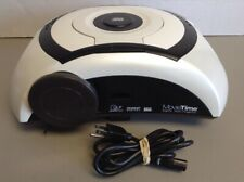 Optoma MovieTime DV10 digital DVD Projector 430 Hours Lamp with Power Cord AS IS