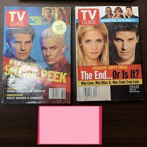 Lot of 2 Buffy the Vampire Slayer Angel TV Guide May September 2003