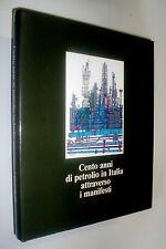 Cento anni di petrolio in Italia attraverso i manifesti