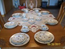 Haviland France Mignonette Porcelain China Spring Floral Pattern 40 Pieces