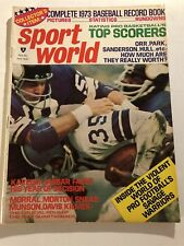 1973 Sport World DALLAS COWBOYS vs MINNESOTA VIKINGS Calvin HILL SAVAGE WARRIORS