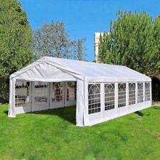 20' x 40' White Outdoor Gazebo Canopy Wedding Party Show BBQ Tent Waterproof US❤