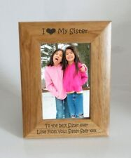 Wooden Sister Standard Photo & Picture Frames