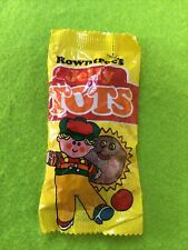 More details for rare vintage 1995 - unopened jelly tots packet