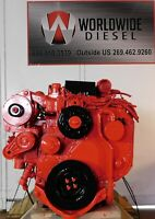 1999 Cummins ISB Diesel Engine, 175HP, Approx. 169K Miles. All Complete