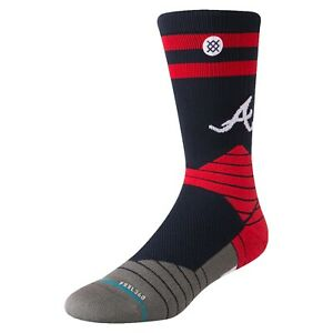 STANCE - Atlanta Braves - Diamond Pro Crew Socks  - Large