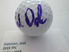 Joel Dahmen Signed Bridgestone Golf Ball