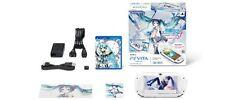 USED Playstation PS Vita Miku Hatsune DIVA f 3G/Wi-Fi model PCHJ-10001 JAPAN