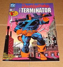 1991 Deathstroke the Terminator #1 1st Print DC Comics JLA