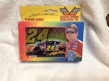 1999 JG Motorsport limited edtion Jeff Gordon number playing card in a tin