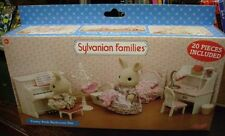 Sylvanian Families Pretty In Pink bedroom set New Boxed
