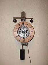New Floor Model  Weight Driven Skeleton Wall Clock (New No Box)