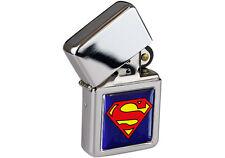 Superman Logo Flip Top Lighter