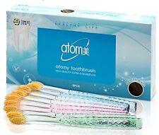 Atomy Toothbrush 99.9% Gold Coated Nano Brush Soft Slim Oral Care k-beauty