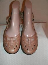 Sofft Metallic Gold Leather Strappy Shoes Shoe Size 9 N