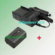 NP-FV30 Battery pack + Charger for sony HDR-XR100 HDR-XR100V DCR-SR68 DCR-SX41R