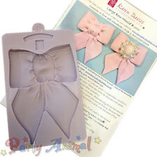 Karen Davies Vintage Single LARGE BOW Mould - Cake Sugarcraft Flexible Silicone