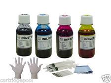 Refill ink kit for HP 27 28 FAX 1240 Deskjet 3650v 3845xi 3845 4x4oz/s/gloves
