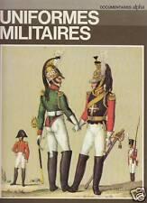 """Livre """" Uniformes Militaires """" JBR Nicholson """" ( No 2300 ) Book"""