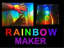 Sun catcher/rainbow maker feuille, énorme rainbows dans votre chambre en utilisant le soleil