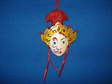 Japanese Mask Ornament Red 0258 61