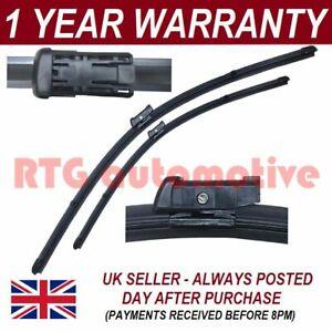 Direct Fit Windscreen Wiper Blades Front Fits Vauxhall Zafira Mk3 1.4 2011-
